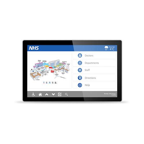 55″ Touchscreen PC